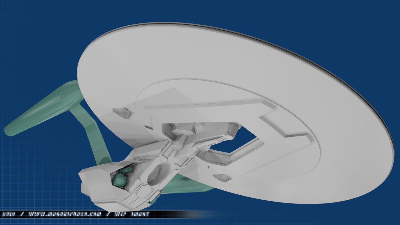 Uss Vengeance Hot Wheels The main parts of the saucer